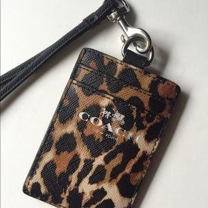 Coach | Cheetah Print Lanyard
